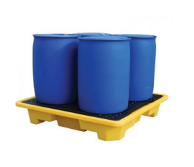 FOSSE Liquitrol FL-205-105 Spill Kill 4 Drum Spill Pallet