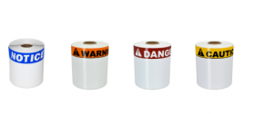 Duralabel T0406-8O Outdoor Arc-Flash and Health and Safety Labels