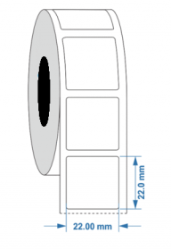 Engraving Plate Label 22mmX 22mm KSA