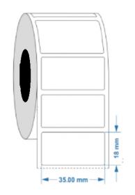 Engraving Plate Label 35mmX18mm KSA