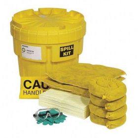Spilltech SPKHZ-20 HazMat 20 Gallon Overpack Salvage Drum Spill Kit UAE KSA