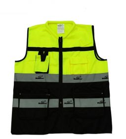 Vaultex DLM Half Sleeve Executive Fabric Vest UAE KSA