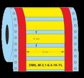 D-Identify DMIL-M-3:1-6.4-1K-YL Heat Shrink Sleeves