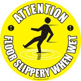 Floor Slippery When Wet KSA