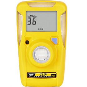 Honeywell BWC3-H BW Clip 3 Year H2S Single Gas Detector