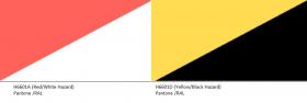 Reflective Marking Tape Hazard H6601 KSA