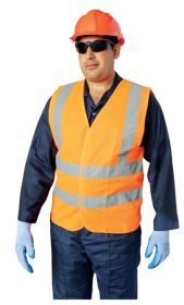 Vaultex HTM Reflective Fabric Vest UAE KSA