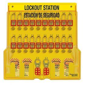 Model No. 1484BP410ES   Lockout Station   Master Lock KSA