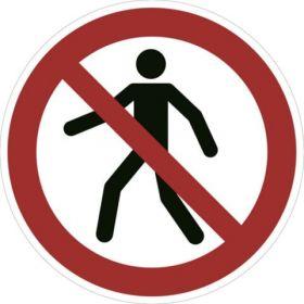 Pedestrians Prohibited KSA
