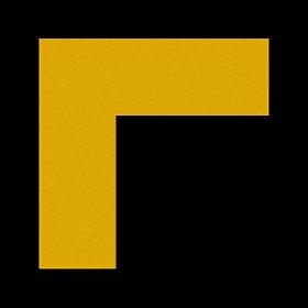 "FLEX Floor Marking Corners 6"" x 6"" Saudi Arabia"
