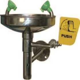 Buy Modern MD508A Stainless Steel Wall Mounted Eye Wash in UAE Saudi Arabia KSA