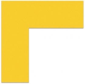 """FLEX Floor Marking Corners 6"""" x 6"""" Yellow"""