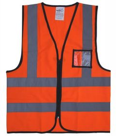 Vaultex ZKR Reflective Fabric Vest UAE KSA