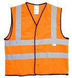 3M VEST 3M O Reflective Safety Vest Orange KSA