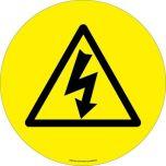 Electro Danger ( Symbol) EWM223 430mm Floor Markers & Safety Signs KSA