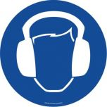 Ear Protection ( Blue)  EWM028 ​430mm Floor Markers & Safety Signs KSA