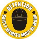 Safety Helmets Must Be Worn KSA