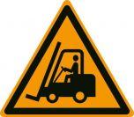 Danger Forklift Trucks W014 430mm Floor Markers & Safety Signs KSA